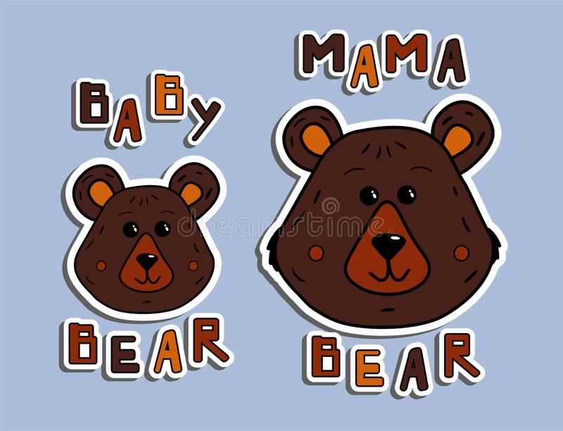 Mama Bear Stock Illustrations 347 Mama Bear Stock