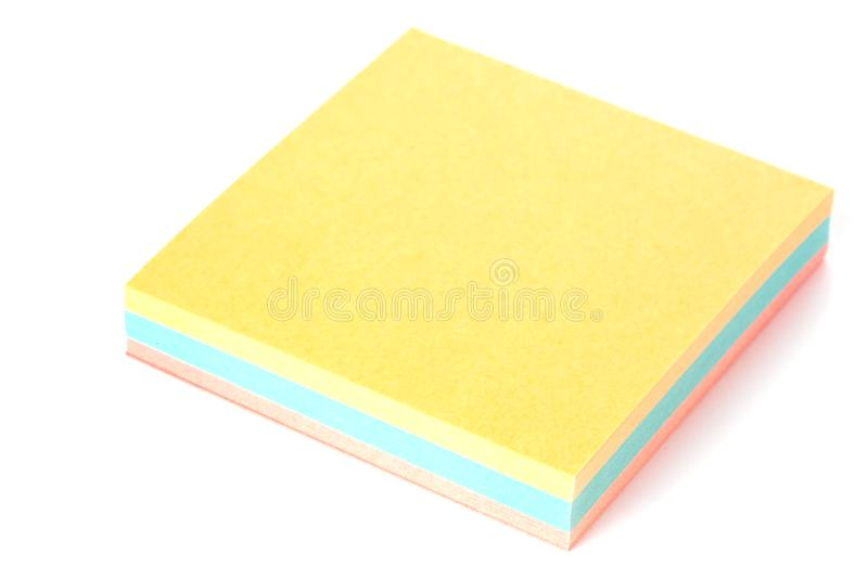 Download Stickies stock photo. Image of studio, isolated, space - 18302606