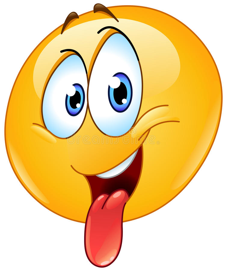 Free Sticking Out Tongue Emoticon Royalty Free Stock Image - 93872696