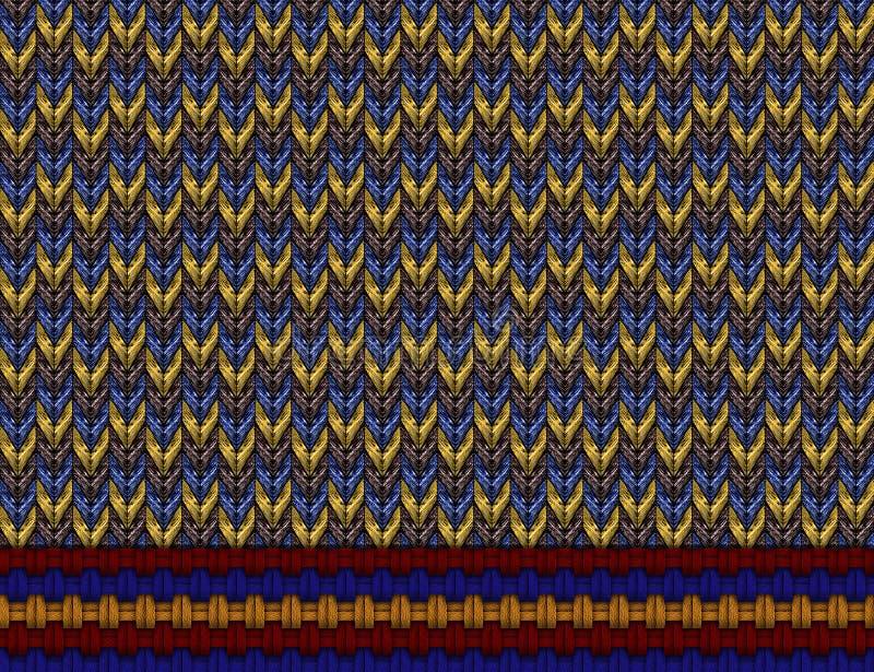Stickmönster royaltyfri bild