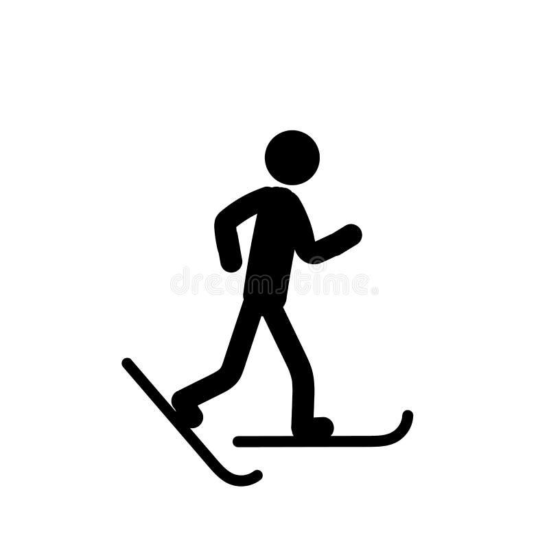 Sports icon on white background royalty free illustration