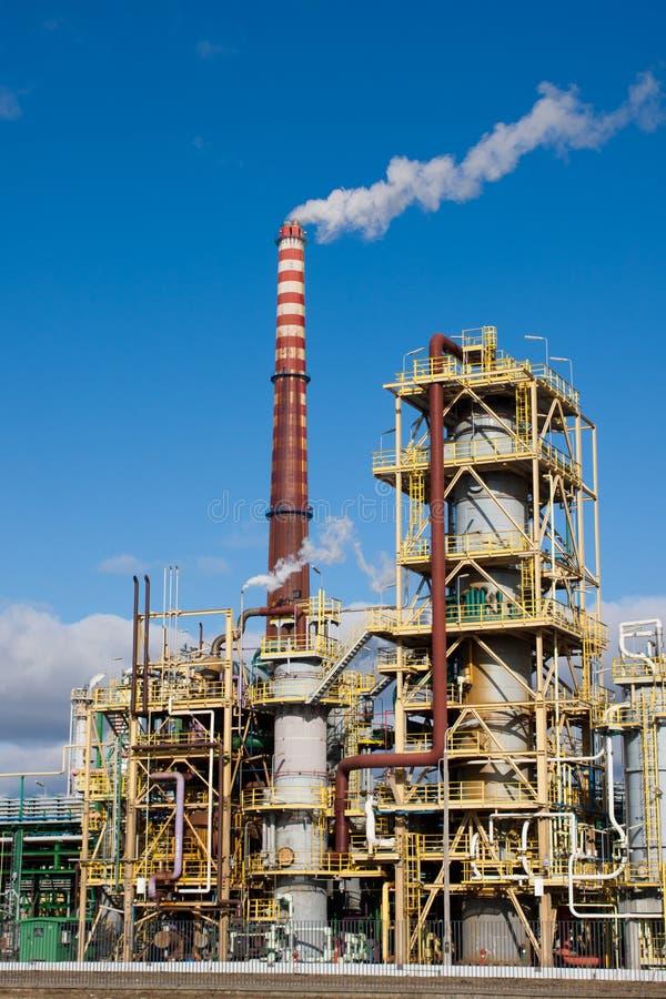 Stickstoff-Chemiefabrik in Polen lizenzfreies stockfoto