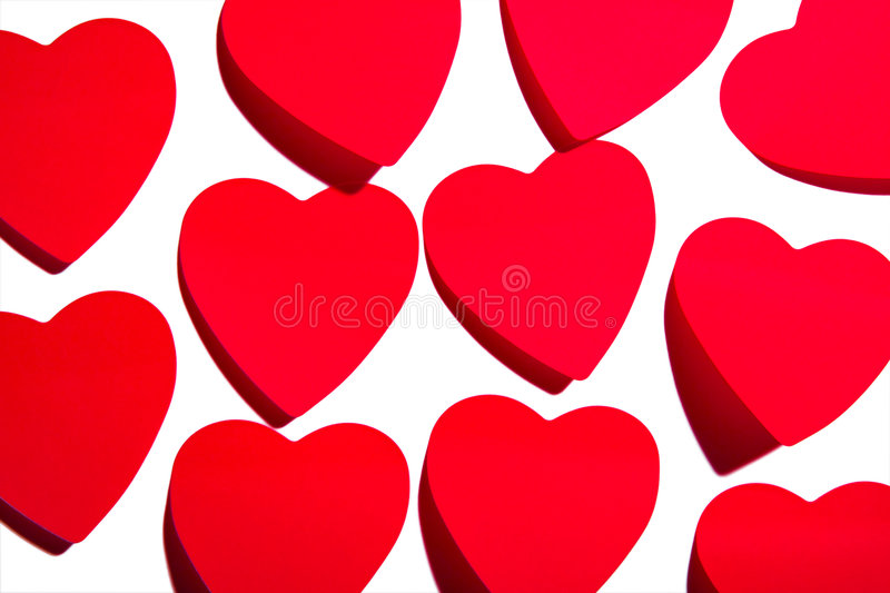 Download Sticky hearts stock photo. Image of color, paper, composition - 4453284