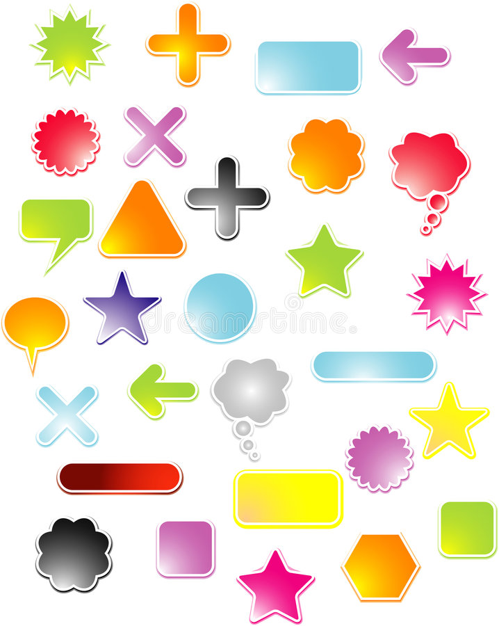 Free Sticky Labels Stock Photography - 7244482