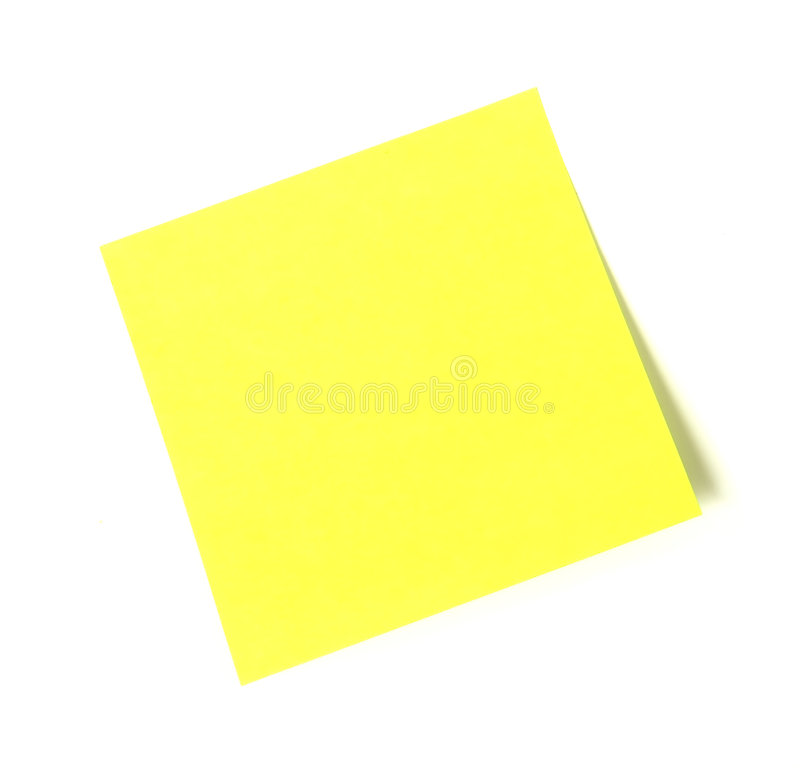 Free Sticky Note Royalty Free Stock Photo - 1116055