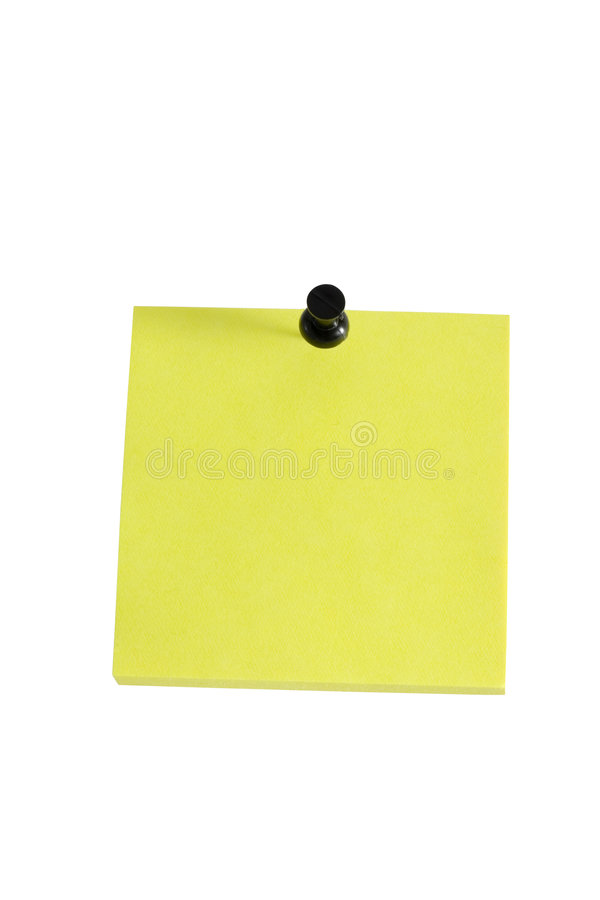 Download Sticky note stock photo. Image of yellow, sticky, bright - 1832930