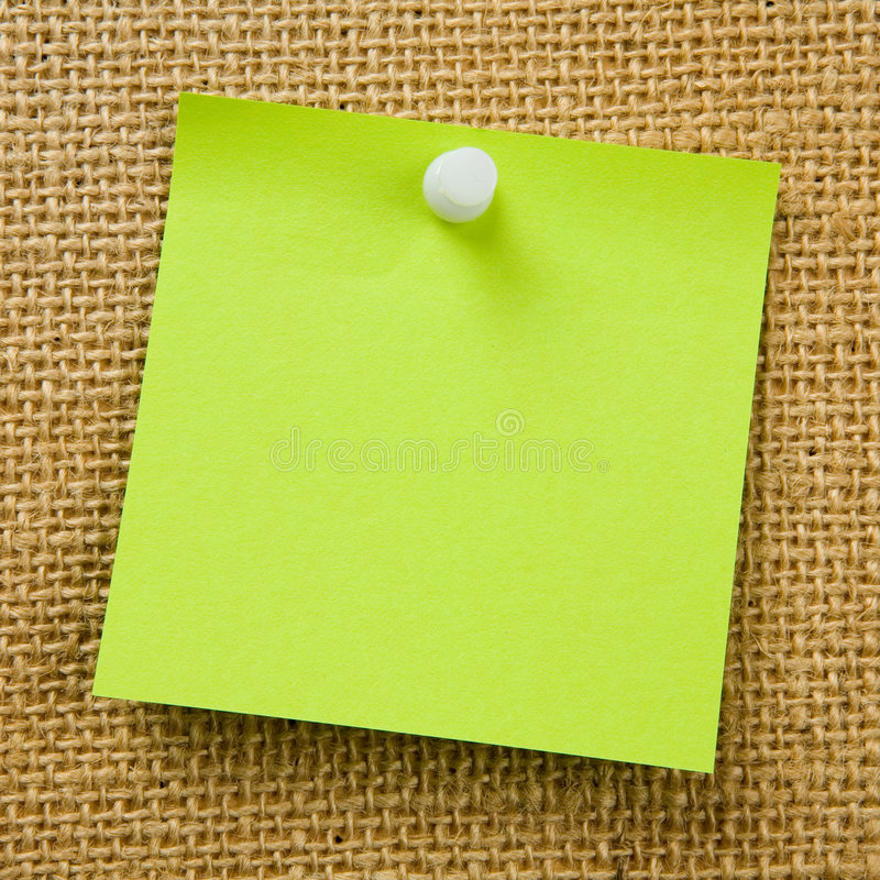Download Sticky Note Royalty Free Stock Photo - Image: 3231305