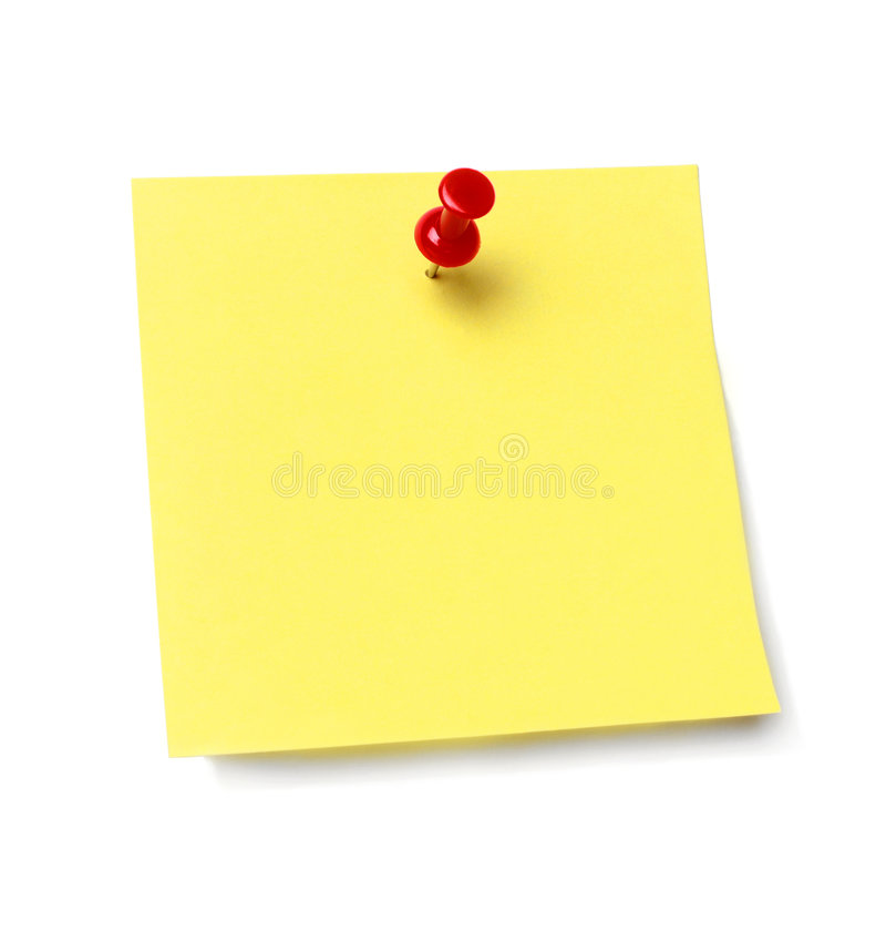 Free Sticky Note Royalty Free Stock Photos - 7658458