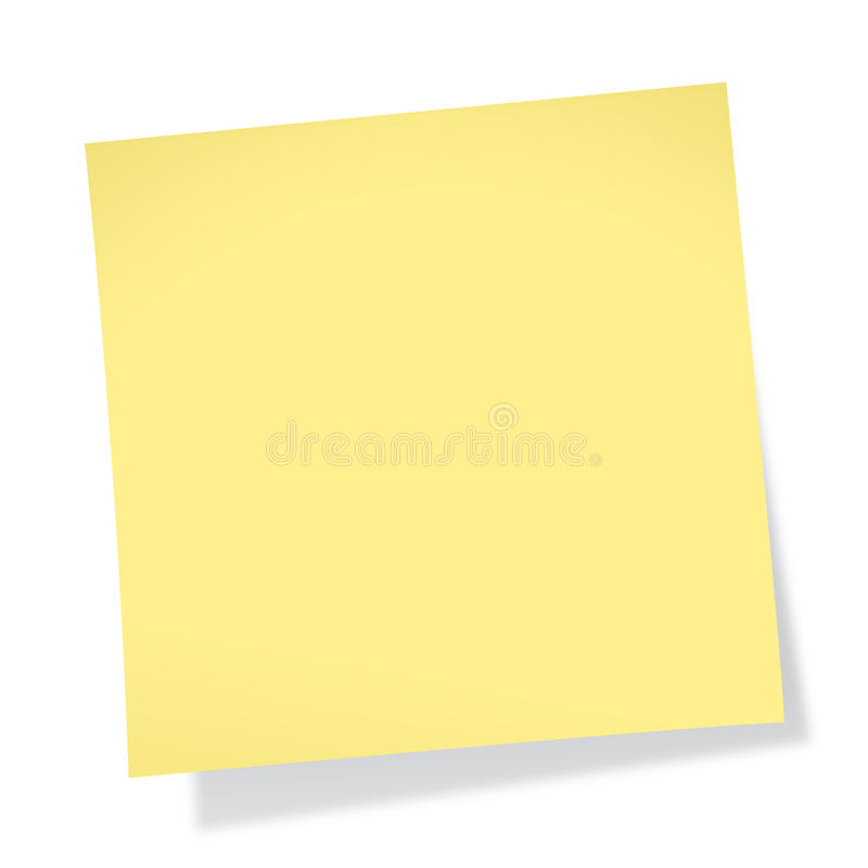 Sticky Note (without Tack)
