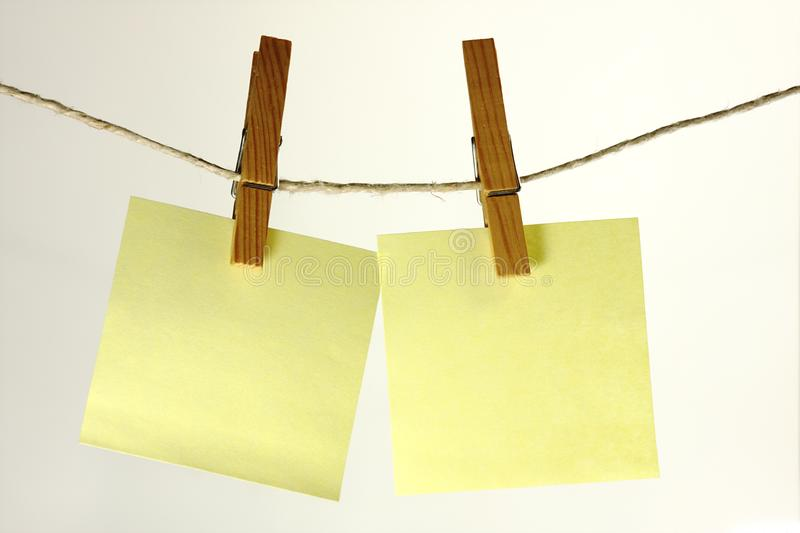 Sticky notes royalty free stock photography