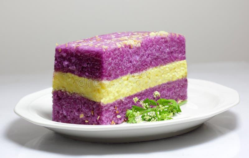 Sticky Rice Cake royalty free stock photo