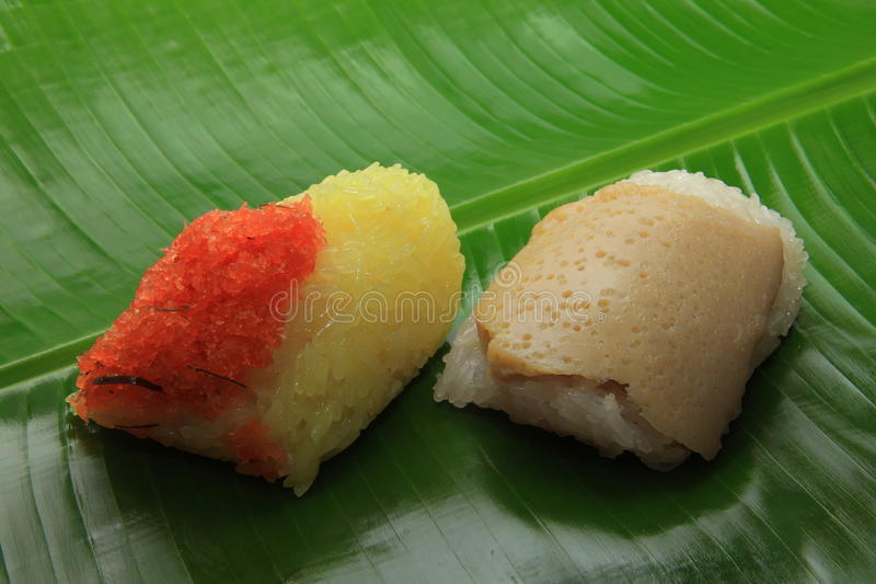 Sticky rice thailand stock images