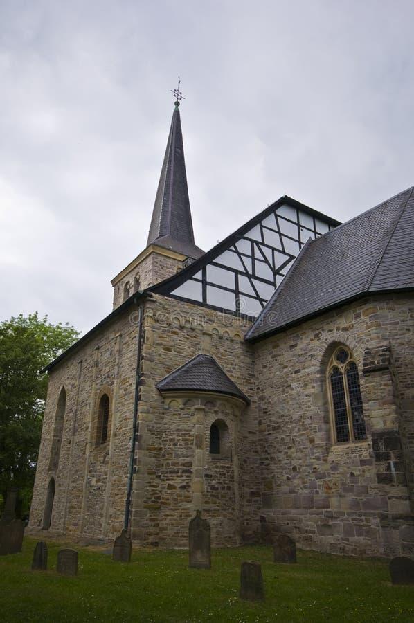 Stiepel的教会 免版税库存照片
