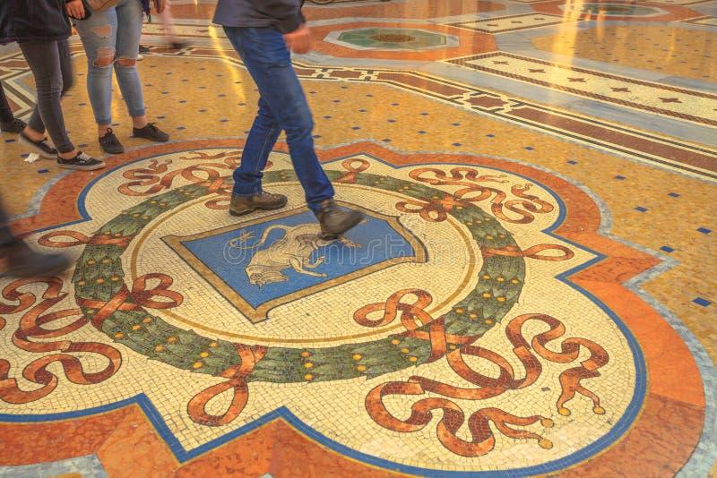 Stieren` s Ballen in Milaan royalty-vrije stock afbeeldingen