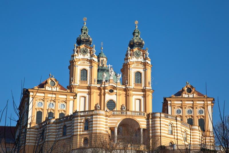 Stift (Abbey) Melk in Austria royalty free stock photos