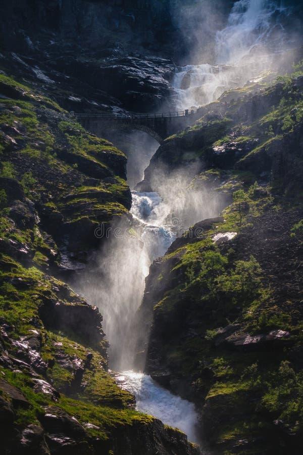 Stigfossen royalty free stock photos
