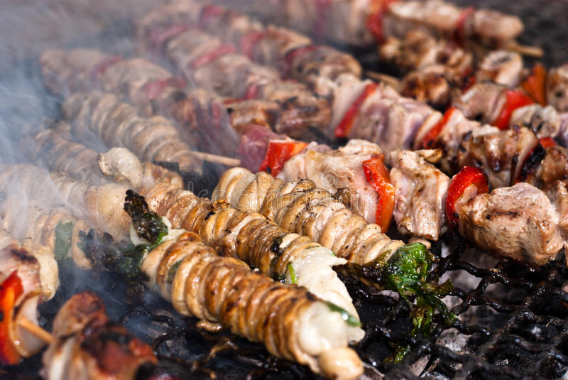 Download Stigghiole. Street Food In Palermo Stock Photo - Image: 37424190