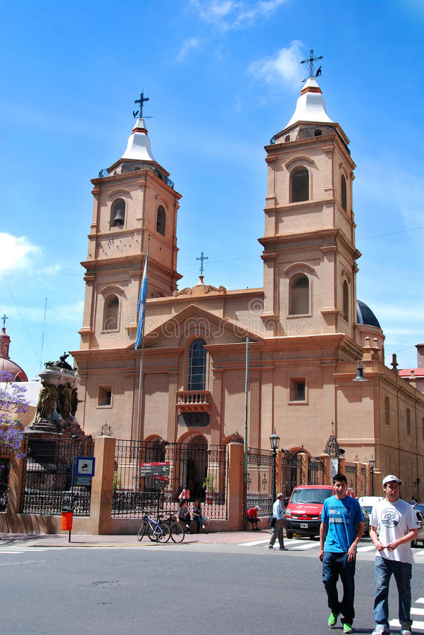 StIgnatius kościół obraz stock