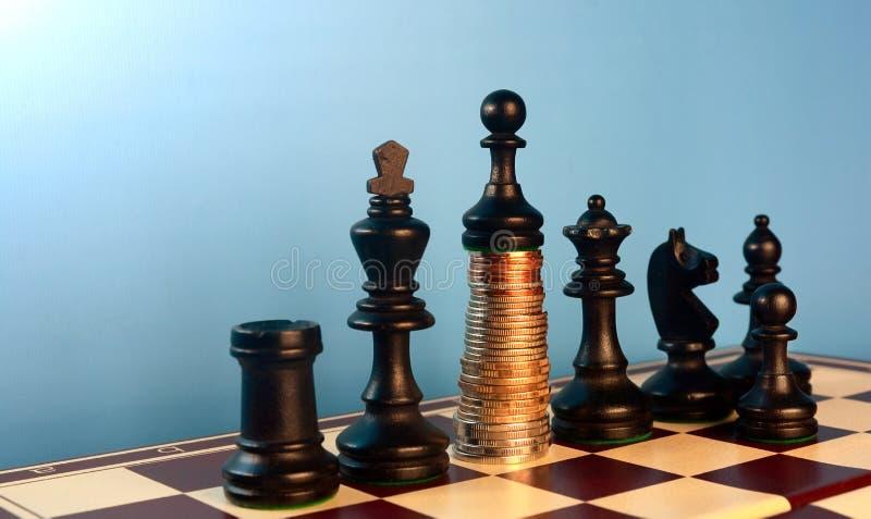 Stijging op geld royalty-vrije stock foto