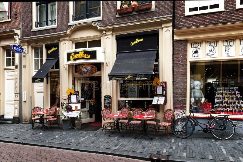 Stijl van het leven in Amsterdam royalty-vrije stock foto
