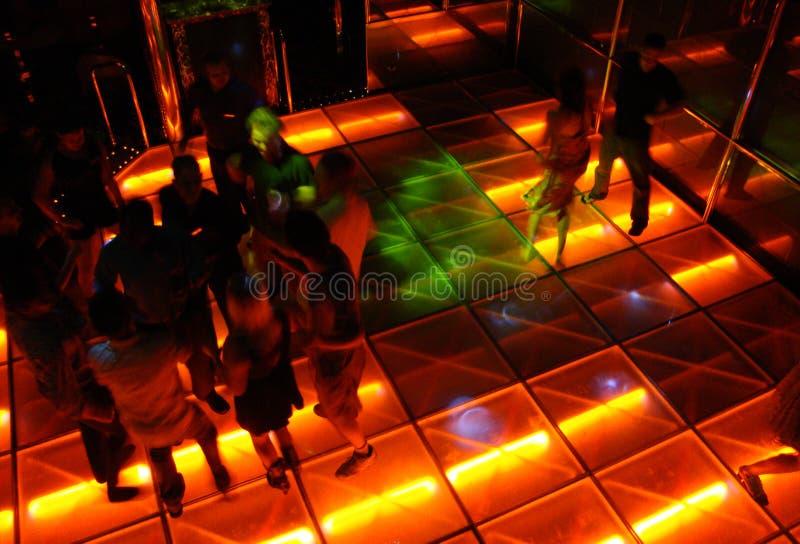 stil för dansdiskokorridor royaltyfri foto