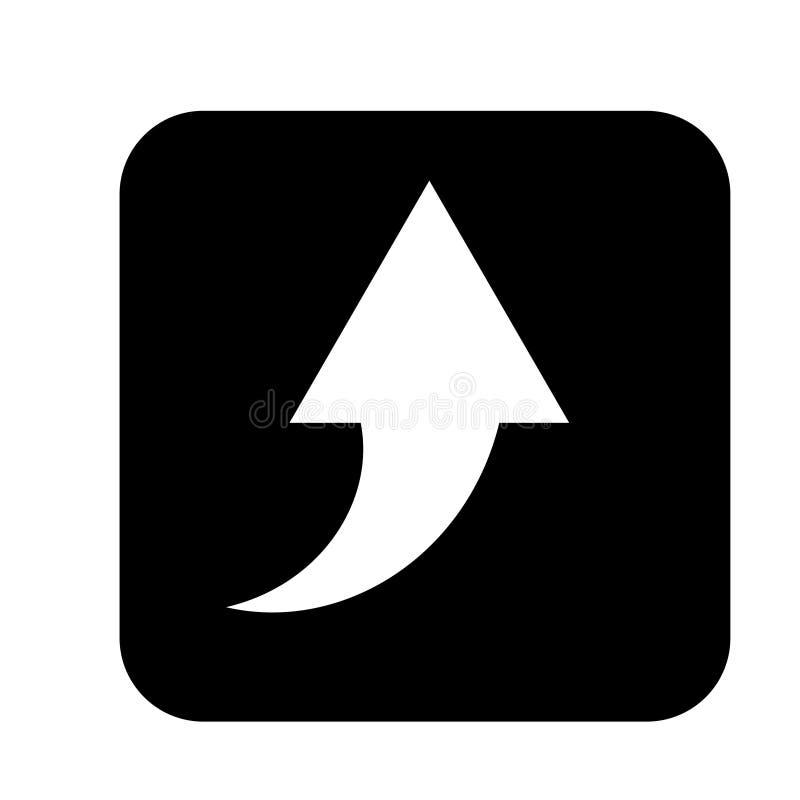 Stil f?r design f?r pilsymbolsvektor plan - vektor royaltyfri illustrationer