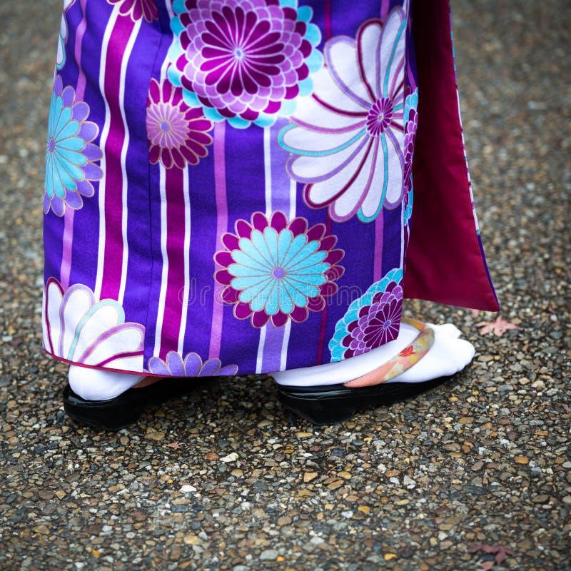 Stile del kimono fotografie stock libere da diritti