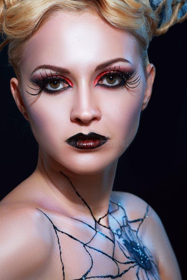 Stile del vampiro di notte fotografia stock libera da diritti