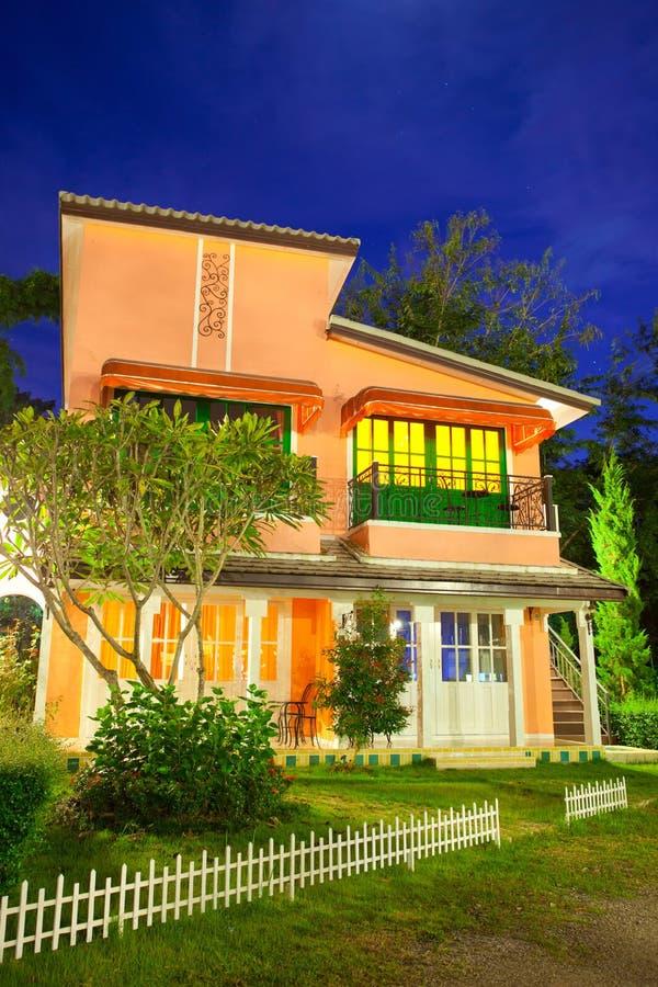 Stile della casa dell'Italia immagine stock