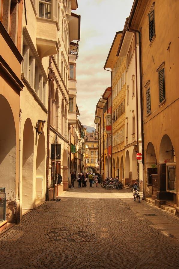 Stile delle vie di Firenze immagine stock
