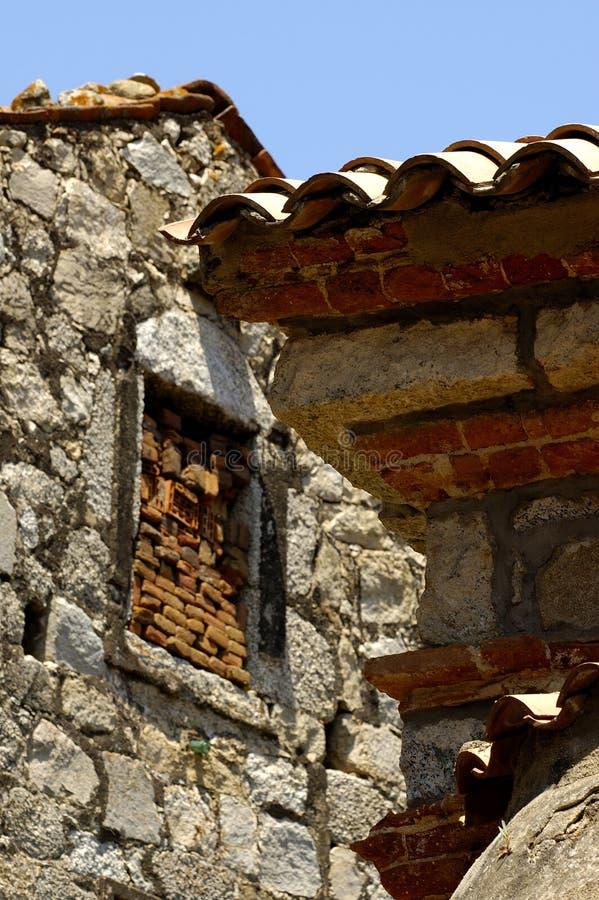 Stile di achitecture della Corsica fotografia stock