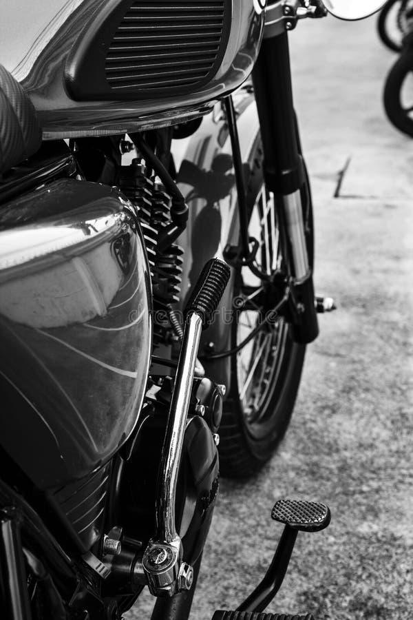 Stile di vita d'annata del motociclo immagine stock