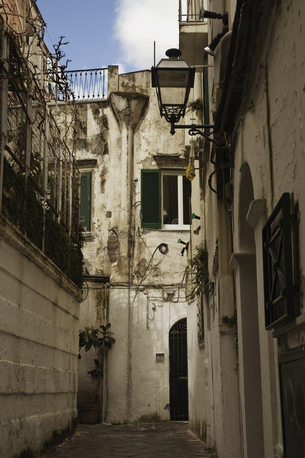 Stile di vita del cortile dell'Italia fotografia stock