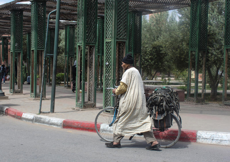 Stile di vita a Marrakesh fotografia stock libera da diritti