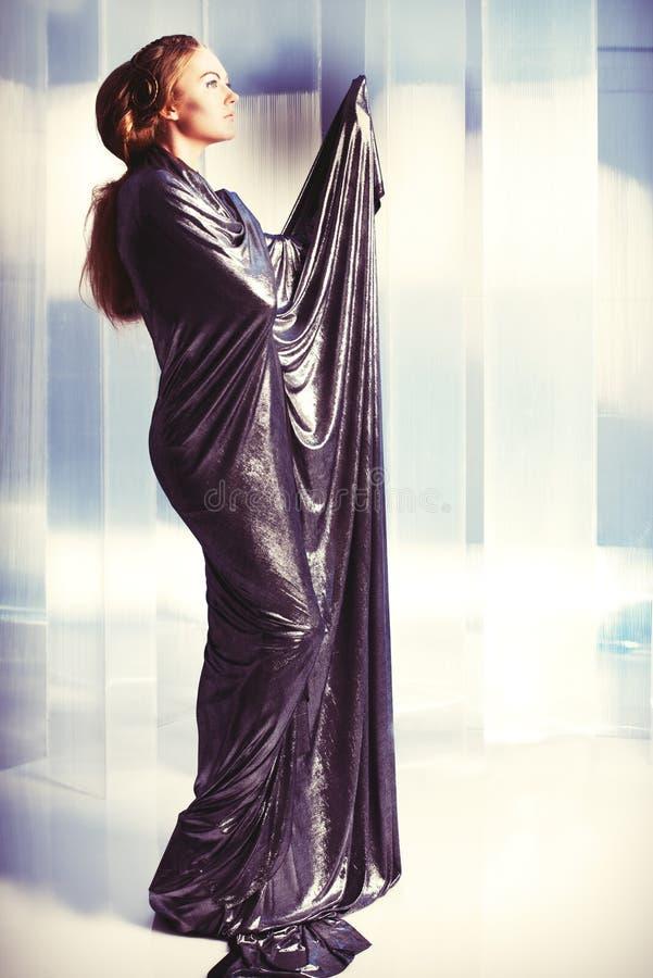 Stile di Vogue immagine stock libera da diritti