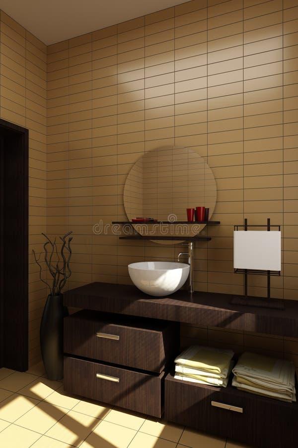 Stile giapponese della stanza da bagno immagine stock immagine di asciutto vase 8494223 - Bagno giapponese ...