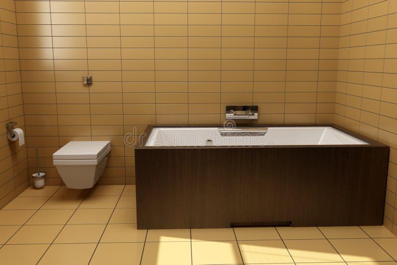 Stile giapponese della stanza da bagno fotografia stock immagine di nessuno wooden 8604190 - Bagno stile giapponese ...