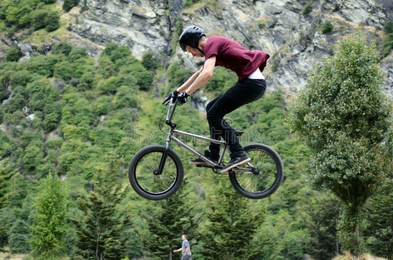 Stile libero BMX fotografia stock