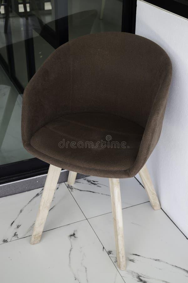Stile minimo di interior design del salone fotografia stock
