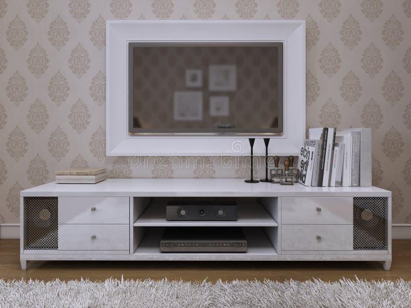 Stile moderno del init della TV immagine stock libera da diritti