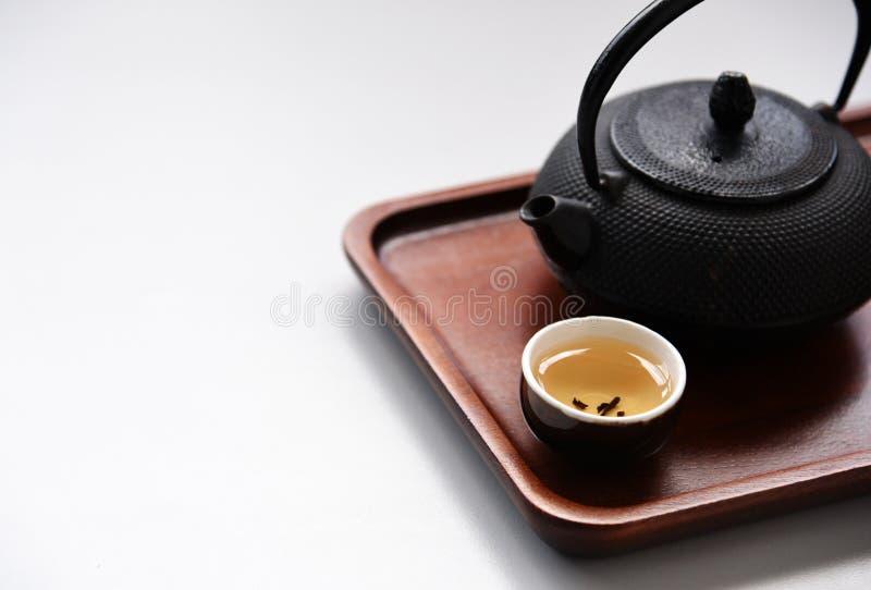 Stile orientale della bevanda del tè cinese immagine stock libera da diritti