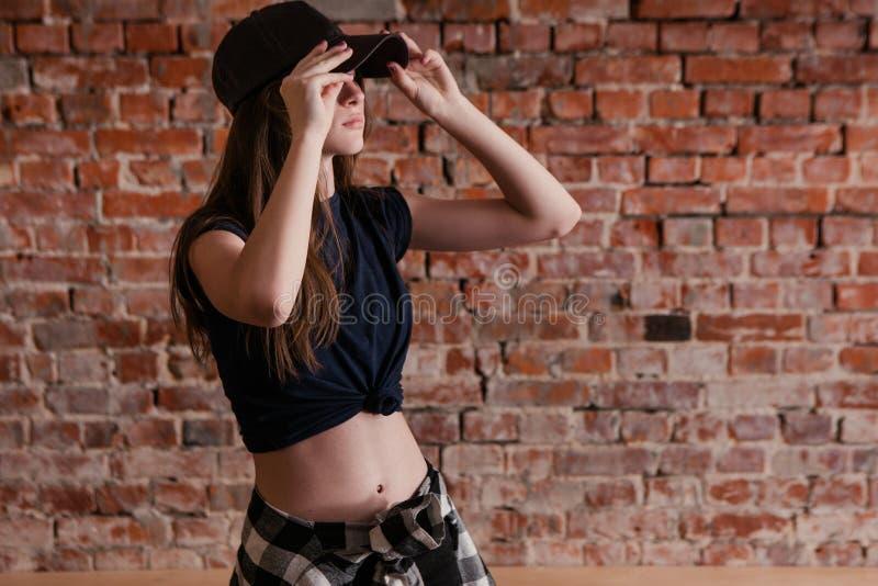 Stile urbano Subcoltura adolescente moderna fotografia stock libera da diritti