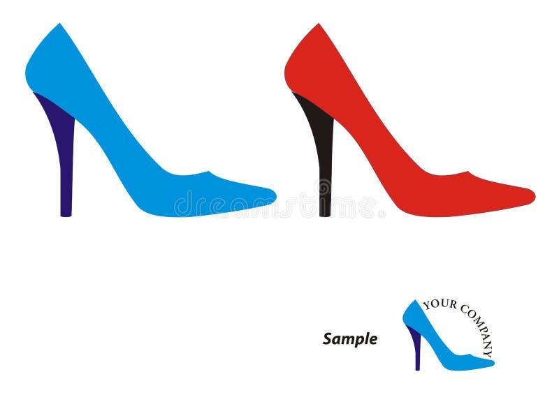 Download Stiletto Heels Logo stock illustration. Illustration of high - 16819957