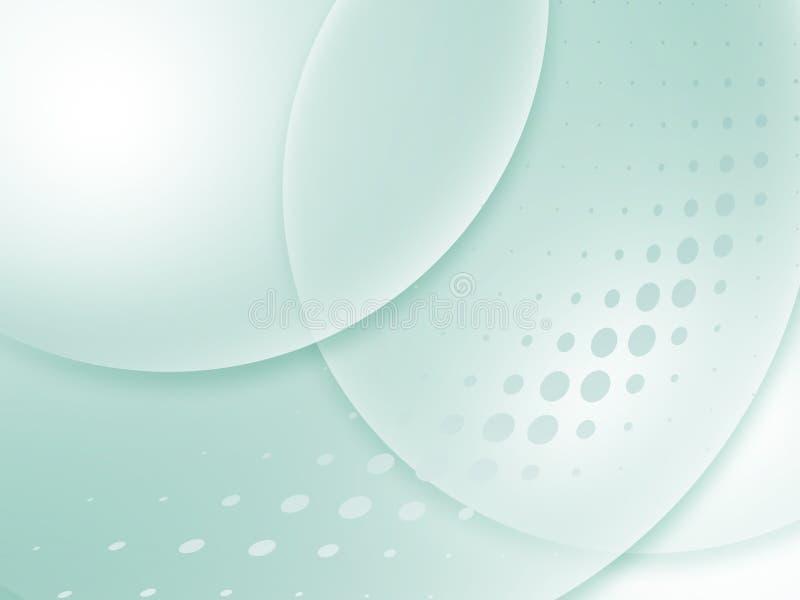 Stilfull presentation för grön färg av affärsaffischen royaltyfri illustrationer