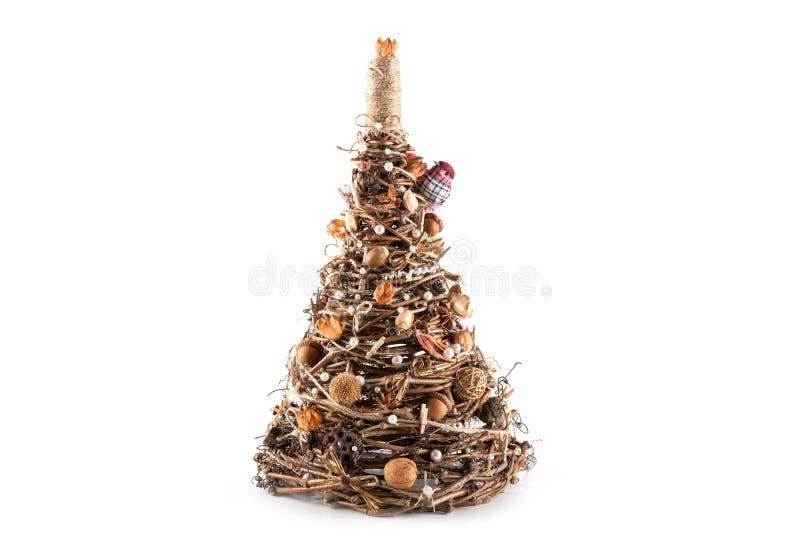 stilfull tree för jul royaltyfri fotografi
