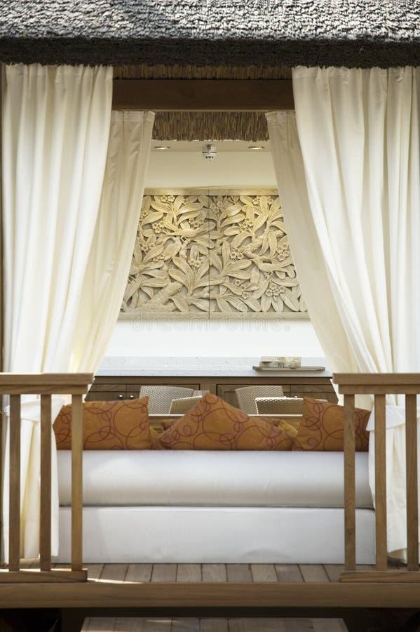stilfull veranda royaltyfri fotografi