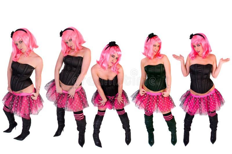 Stili punk immagini stock libere da diritti