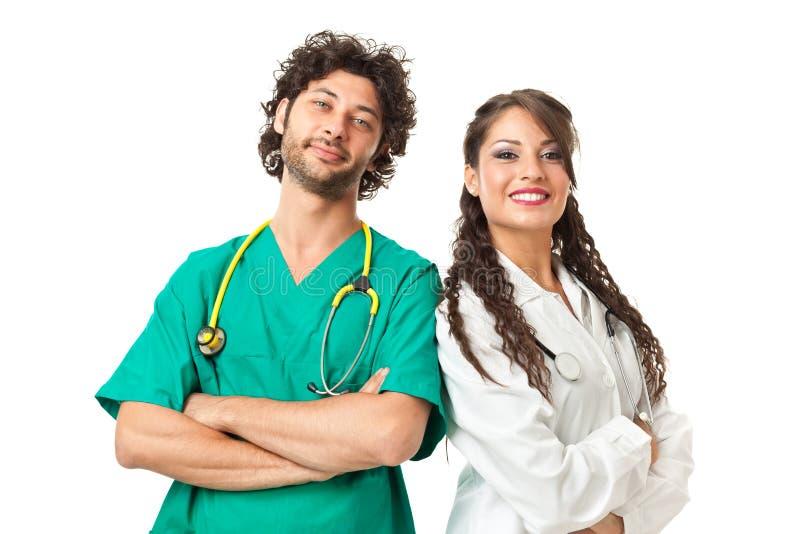 Stiliga läkare arkivbilder