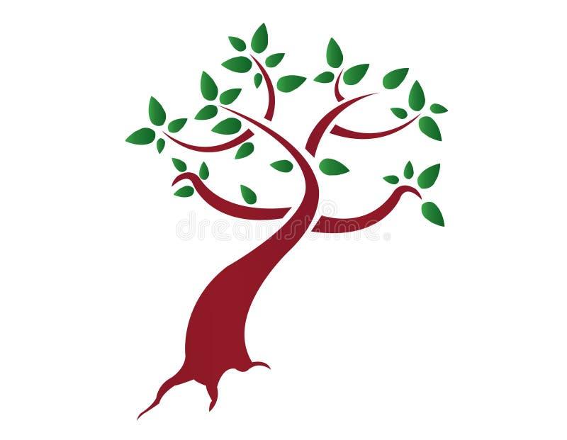 Stilisiert Baum lizenzfreie abbildung