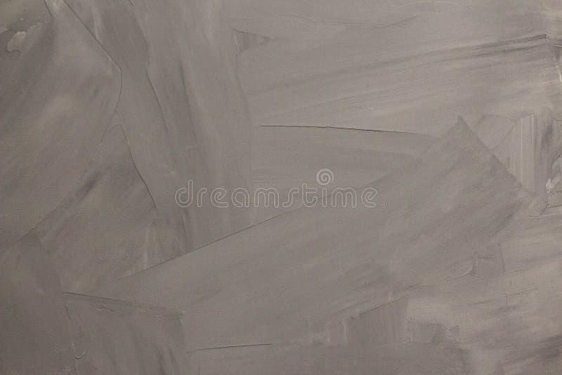 Stilisierter Zement oder Gips des abstrakten grauen Hintergrundes lizenzfreies stockbild